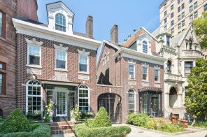 $5.9M townhouse on Prospect Park comes fully loaded with a garage, gym, sauna, & so much more