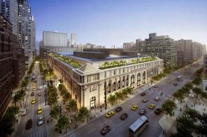 Facebook and Apple are battling for office space at Midtown West's former Farley Post Office