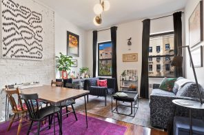 This East Village co-op packs plenty of small-space ideas into a $640K one-bedroom