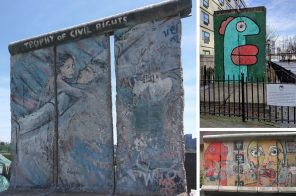 Where to see pieces of the Berlin Wall in NYC