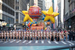 Festive facts and figures about the Macy's Thanksgiving Day Parade