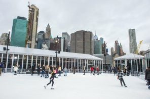 NYC's only open-air rooftop ice skating rink opens this week