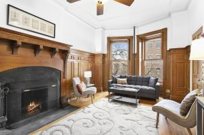 In Park Slope, this $500K compact co-op has a working fireplace and lots of brownstone charm