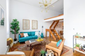 $775K East Village co-op in a former rectory has 13-foot ceilings and a loft