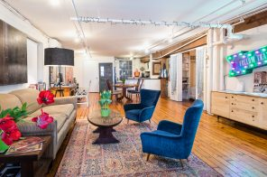 $1.4M Seaport loft is full of character and historic details