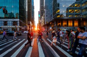 Manhattanhenge returns to New York City's grid
