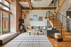 Creative touches and a charming patio set this $2.2M Park Slope loft apart
