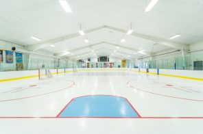 There's a professional hockey rink at this $7.7M Connecticut home