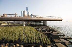 Tribeca's eco-friendly Pier 26 opens with innovative man-made tidal marsh