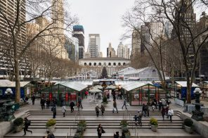 Ice skating rink and holiday market to open at Bryant Park's Winter Village this month