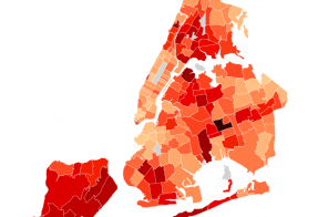 NYC releases map of positive COVID cases by ZIP code