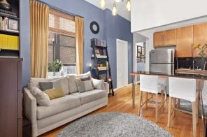 For $550K, this sunny alcove studio is in the heart of Lincoln Center