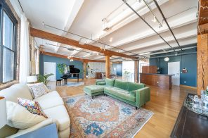 In Union City, a huge Soho-style loft for the NJ price of $1.27M