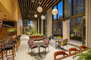 Luxury senior living tower on the Upper East Side offers a sky lounge, fine dining, and more