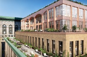 $350M redevelopment of century-old Textile Building reimagines office space with fresh air and greenery