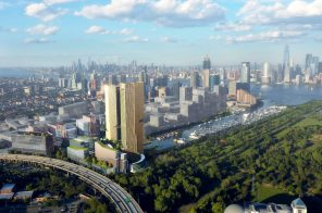 Plans revealed for 13-acre tech and medicine hub with 1,500+ apartments in Jersey City