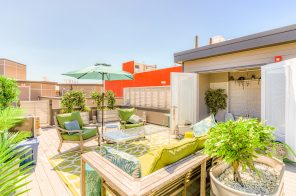 For $645K, this condo in downtown Asbury Park has a laid-back roof deck overlooking the beach