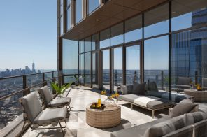 Hudson Yards penthouse with a 920-foot-high terrace lists for $59M