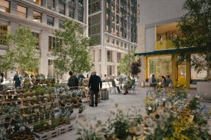 See NYC's Flower District transformed with public courtyards, outdoor markets, and more