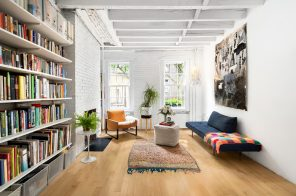 $785K West Village co-op overlooks the building's 'secret garden' courtyard