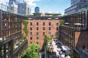 Conversion of Chelsea's historic Terminal Warehouse into offices moves ahead with new looks