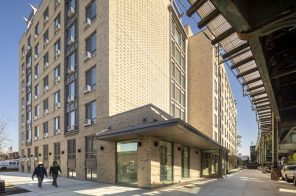 Robert A.M. Stern's affordable housing building Edwin's Place opens in Brownsville