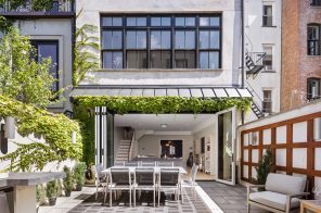 Complete with a garage and carriage house, $6.9M Hoboken townhouse could set a new record