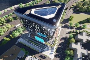 Futuristic hotel/condo tower designed by a Zaha Hadid alum will rise near LaGuardia Airport