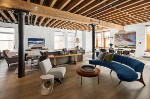 This $7.25M loft in a star-studded Tribeca building is both beautiful and livable