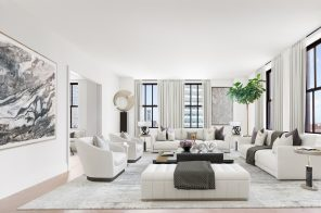 This grand four-bedroom Tribeca condo in the world's first Art Deco skyscraper asks $8.8M