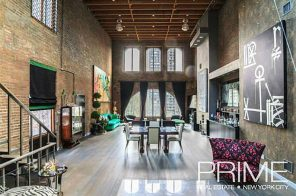This Dramatic Downtown Triplex Loft Tells the Story of a Neighborhood's Creative Past