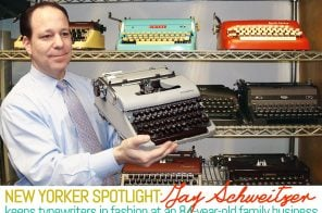 Spotlight: Jay Schweitzer Keeps Typewriters in Fashion at an 84-Year-Old Family Business