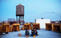Bivouac offers free off-grid camping on a secret NYC rooftop