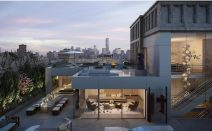 Nomad penthouse with two kitchens and a pool asks a neighborhood record-setting $68.5M