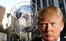 20 years ago, the city told Donald Trump he couldn't put his name on the Columbus Circle globe