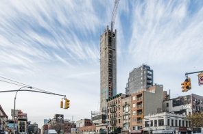 Built in Poland and shipped in pieces, NYC's biggest modular hotel project is 55 percent complete