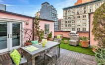 Insane roof deck tops this $2.65M Tribeca penthouse