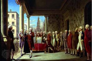 The first presidential inauguration was held in New York City in 1789