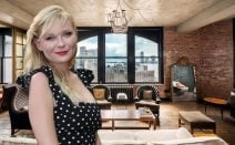 Kirsten Dunst's vintage-cool Soho penthouse returns for $5M