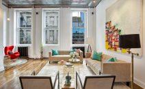 Impressive views of 1 WTC from this $3.6M Tribeca loft apartment