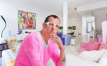 Buy Karim Rashid's sleek, candy-colored Hell's Kitchen condo for $4.75M