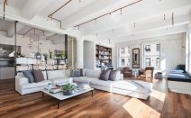 $5M renovated Tribeca loft is a veritable showcase of super-hot decorating trends