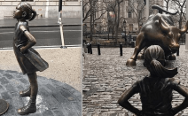 Artist who created Wall Street's 'Charging Bull' angered by 'Fearless Girl' statue