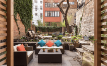 Gramercy maisonette with a gorgeous garden and wine cellar asks $3.2M
