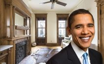 Park Slope townhouse Barack Obama once called home asks $4.3M