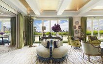 Late billionaire's ex lists spectacular Stanhope penthouse with five terrace gardens for $65M