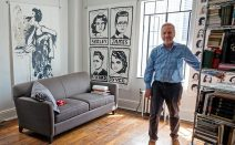 My 408sqft: A Tudor City historian lives maximally in a micro-studio using furniture on wheels