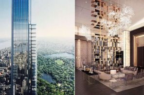First look at Central Park Tower's palatial amenity spaces and apartment layouts
