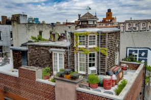 One of NYC's rare rooftop 'cottages' is for sale, asking $3.5M in the East Village