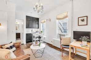 $2,500/month Soho studio fits a lot of storage and charm into 200 square feet